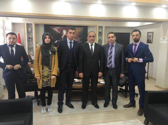 AK Parti Gençlik Kollarından Emniyet Müdürlüğü'ne Ziyaret