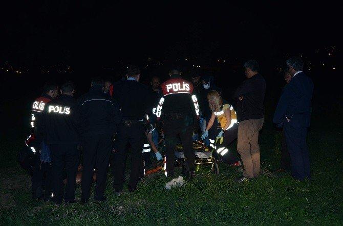 Çırılçıplak Koşan Şahıs Polis Tarafından Etkisiz Hale Getirildi