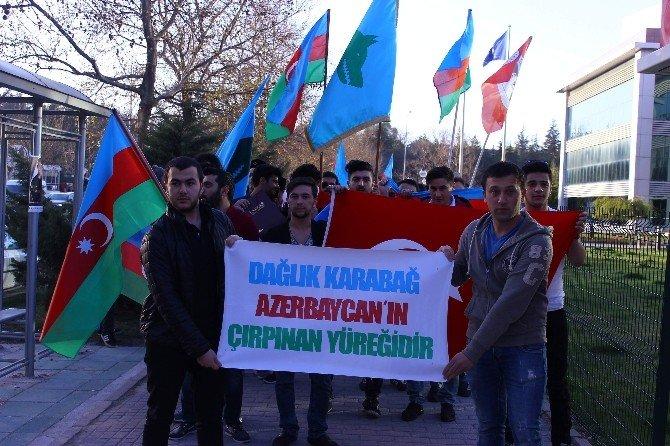 Eskişehirliler, Azerbaycan'a Destek İçin Yürüdü