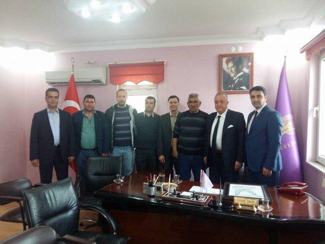 Tesk Genel Başkanı Havran'ı Ziyaret Etti