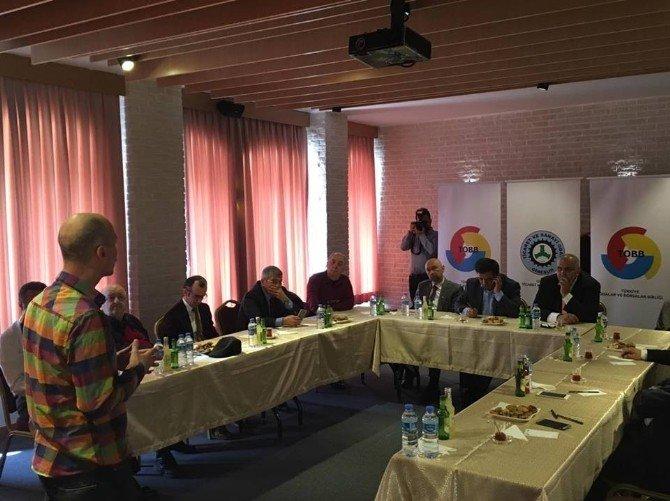 """Gtso'dan Mesleki Yeterlilik Belgesi"""" Bilgilendirme Toplantısı"""