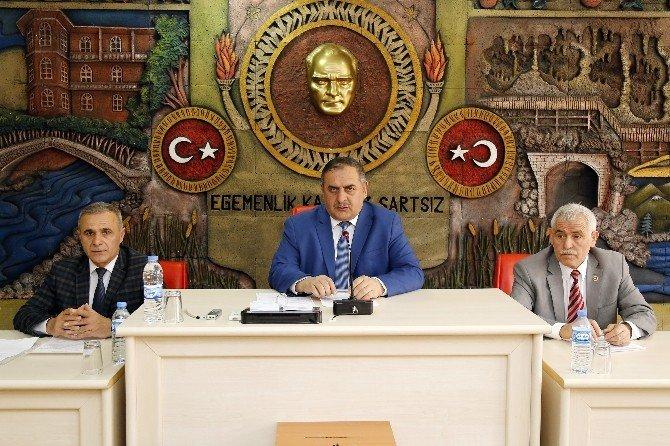 Gümüşhane İl Genel Meclisi'nin Nisan Ayı Toplantıları Devam Ediyor
