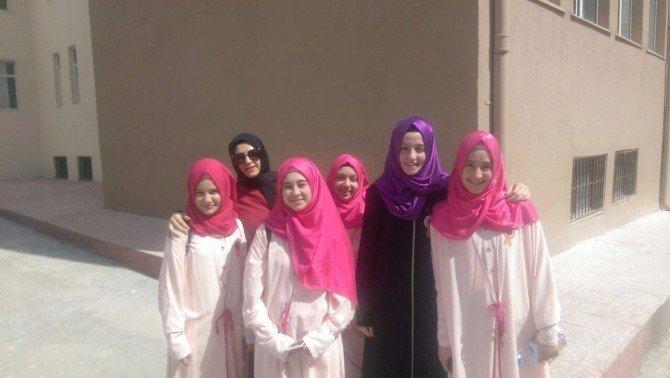 Arapça İlahi Yarışmasında Kütahya İkincisi Oldular