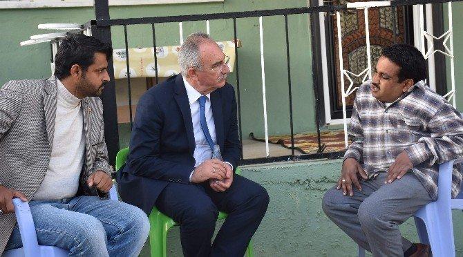Başkan Kale, Engellinin Sosyal Medyadan Yaptığı Daveti Geri Çevirmedi
