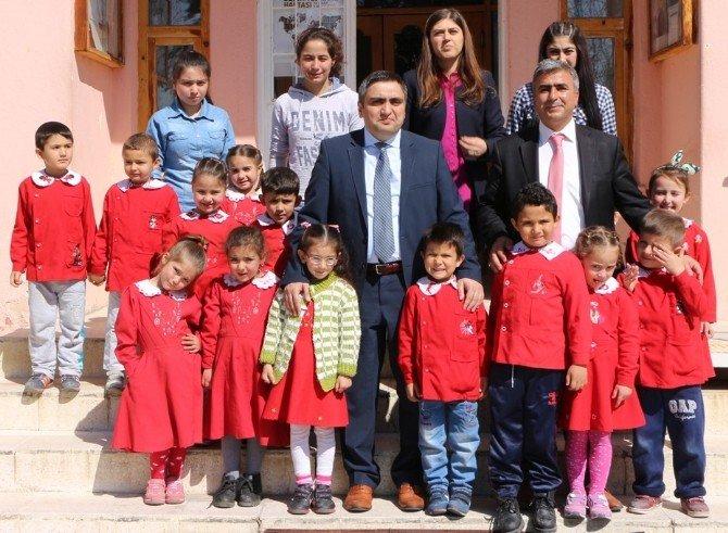 Öğrencilerden Kaymakam Karaaslan'a Ziyaret