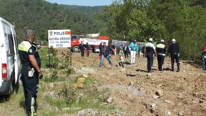 Marmaris'te Şehit Polisler Anısına Hatıra Ormanı Oluşturuldu