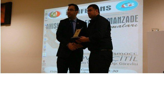 ''Ahıskalı Ömer Faik Numanzade - Hayat Ve Çalışmaları'' Konulu Konferans