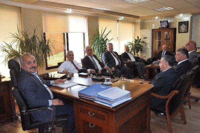 ESOB Başkanı Dinçer Kent Protokolünü Ağırladı