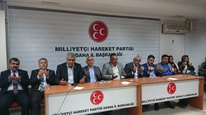 Alparslan Türkeş, Adana'da Dualarla Anıldı