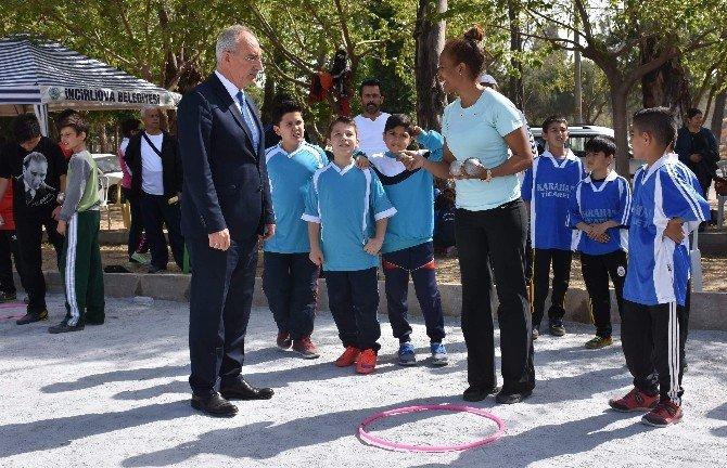 İncirliova Bocce Turnuvasına Ev Sahipliği Yaptı