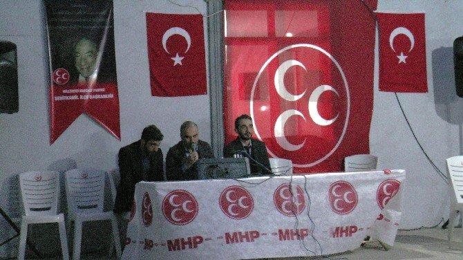Gaziantep'te Alparslan Türkeş İçin Mevlüt Okutuldu