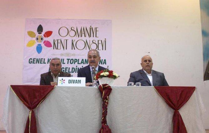 Osmaniye Kent Konseyi Yürütme Kurulu oluşturuldu