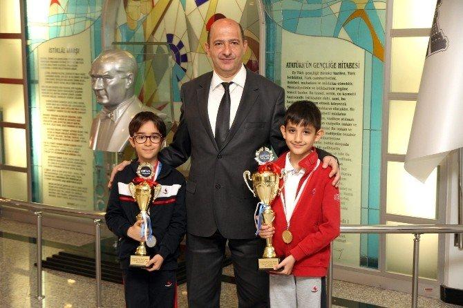 Özel Sanko Okulları Öğrencilerinin Satranç Başarısı,