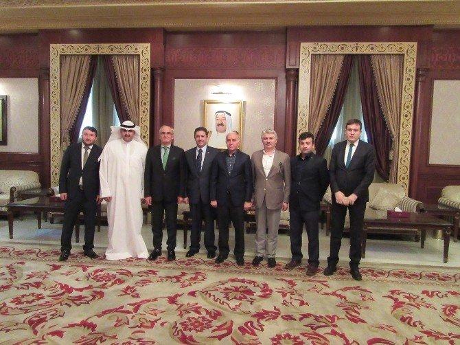 Samsun Heyeti Kuveyt'te
