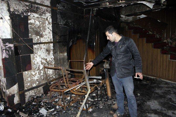 Lokanta Yangınında Faciadan Dönüldü