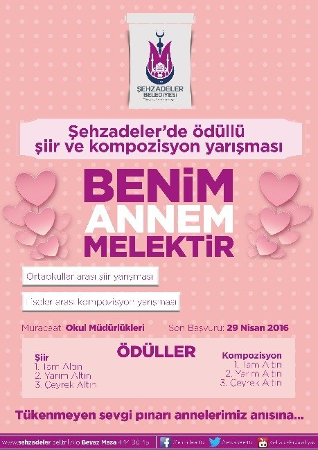 Şehzadeler'den Anneler Günü'ne Özel Yarışma