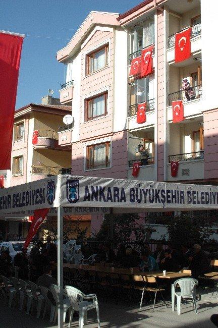 Şehit Ateşi Ankara'ya Düştü