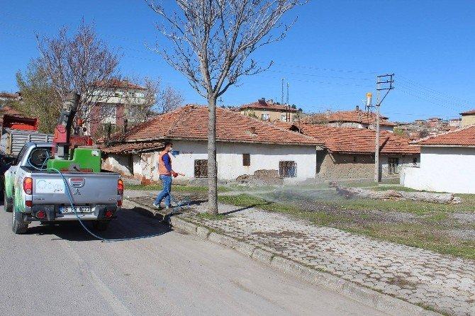 Sungurlu Belediyesi İlaçlama Çalışmalarına Başladı