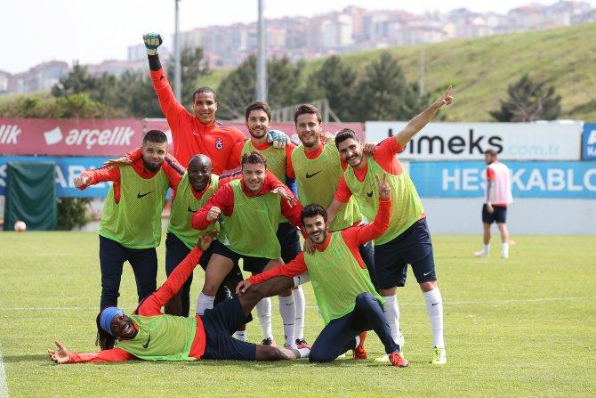 Trabzonspor, Başakşehir maçına hazırlanıyor