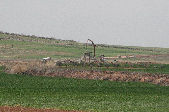 Suriye Sınırına 'Akıllı Kuleler' Yapılıyor