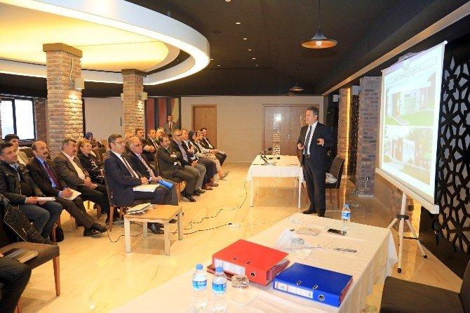 Başkan Palancıoğlu'dan Meclis Üyelerine Sunum