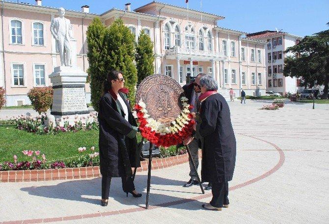 Tekirdağ'da 5 Nisan Avukatlar Günü Kutlamaları