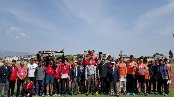 Türkiye Atletizm Grup Yarışları Aydın'da Yapıldı
