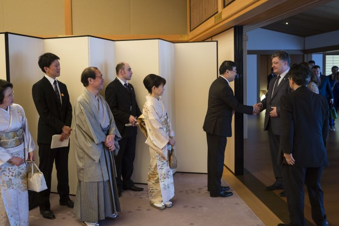 Poroşenko: Ukrayna'da 2017 yılı Japonya yılı ilan edilecek
