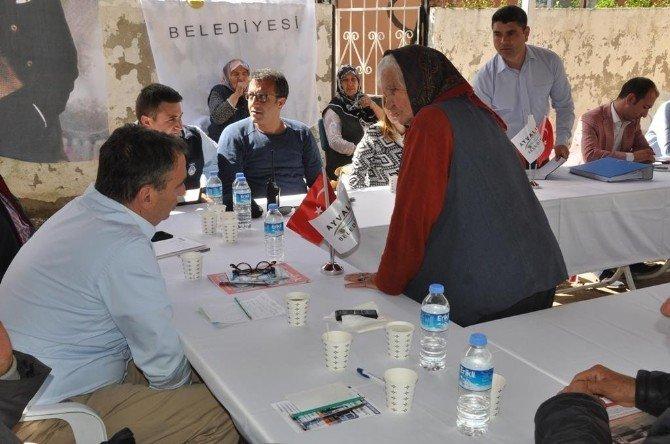 Başkan Rahmi Gençer, Herkesi TEK TEK Dinledi