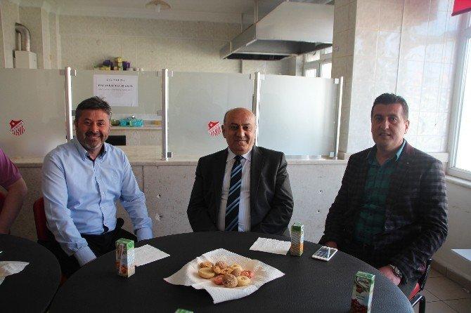 Emniyet Müdürü Bektaş'tan Bilecikspor'a Veda Ziyareti