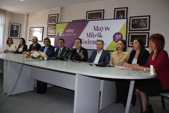15. Mersin Uluslararası Müzik Festivali Heyecanı Başladı