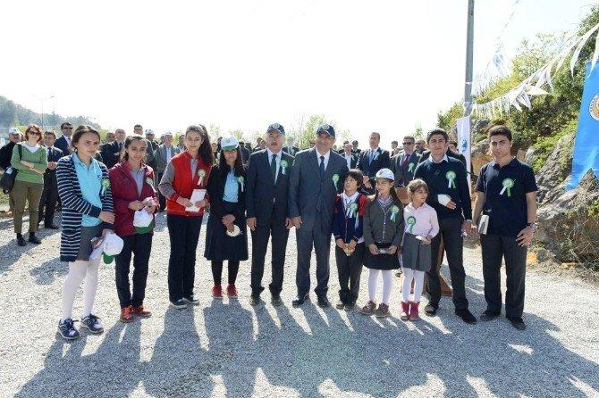 Zonguldak'ta Ağaç Bayramı Töreni Düzenlendi