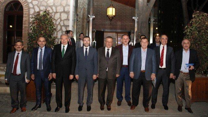 Başkanlar Esenyurt Kaplıcalarını Gezdi