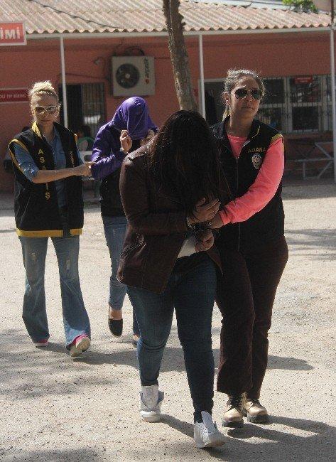 Yabancı Uyruklu Kadınlara Fuhuş Yaptıran Çete Çökertildi