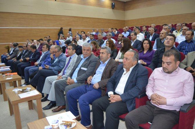 Kozan'da genç çiftçilere 30 bin TL hibe programı anlatıldı
