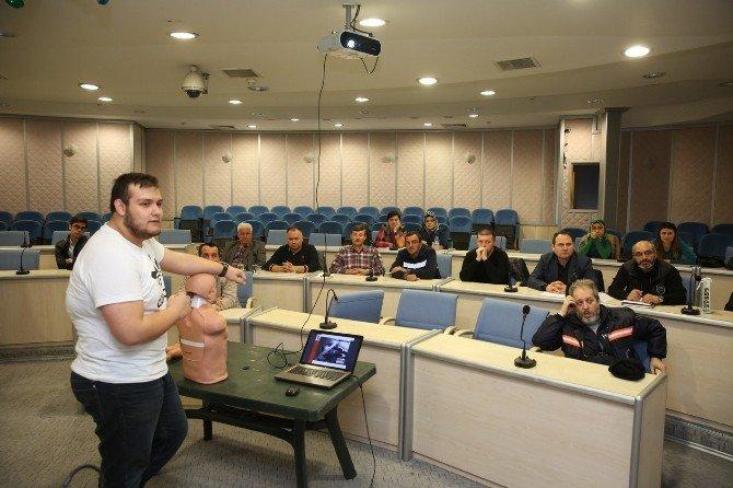 Adapazarı Belediye Personeline İlk Yardım Eğitimi Verildi
