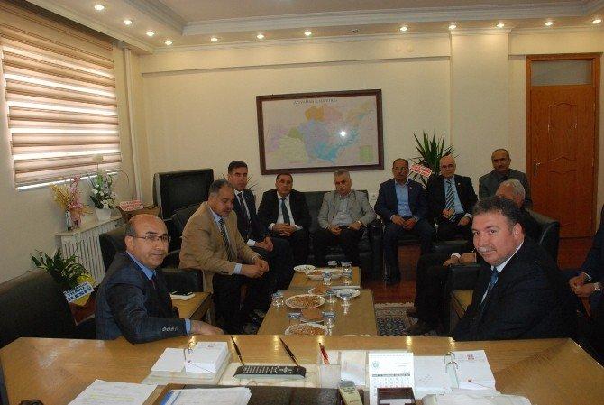 Vali Demirtaş'tan İl Genel Meclis Başkanı İrfan Yılmaz'a Ziyaret