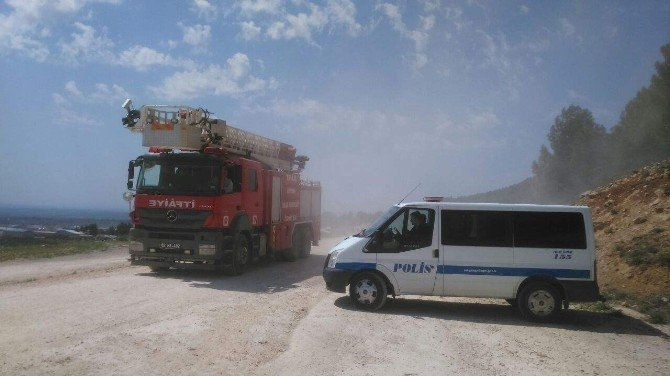 Petrol Kuyusunda Yangın İhbarı Asılsız Çıktı