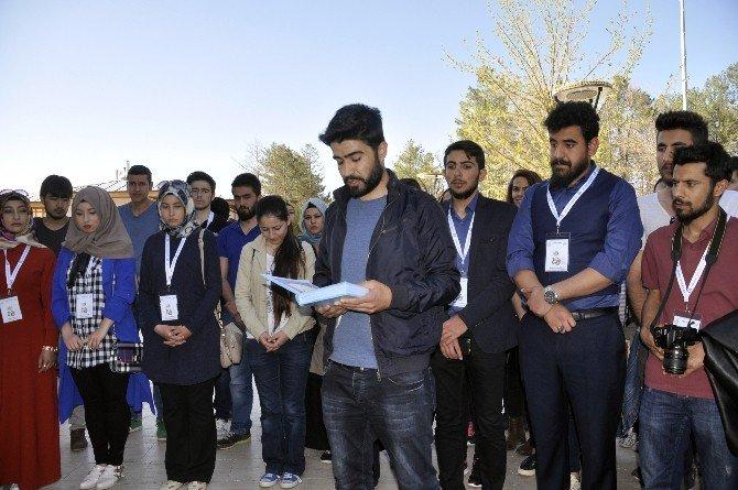Aksaray'da Öğrencilerden İyilik Yürüyüşü