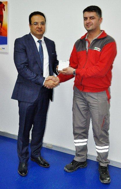 Bursagaz'dan Hizmet Kalitesini Artıran Çalışanlarına Ödül