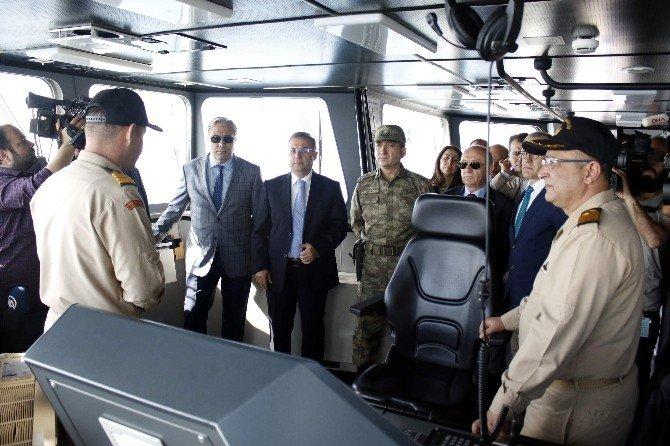 Denizde Güvenlik Ve Arama Kurtarma Tatbikatı