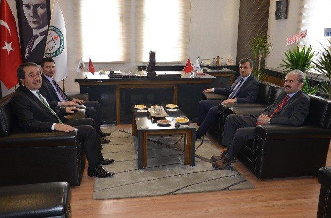 Adalet Komisyonu Başkanlığı'ndan Baro Başkanı'na Ziyaret