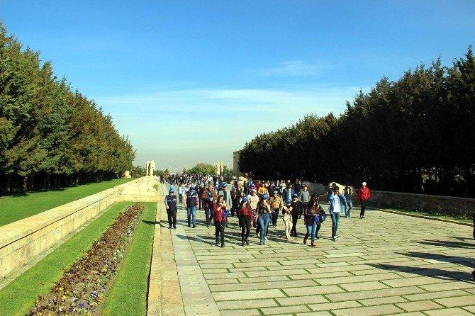 Aydın Büyükşehir Belediyesi'nden Anıtkabir Gezisi