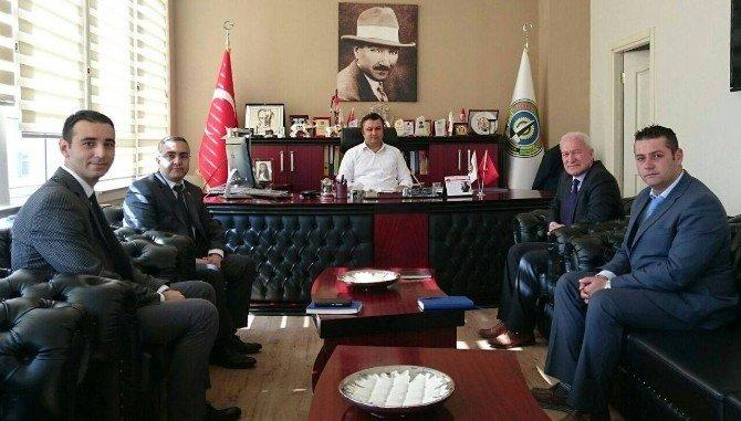 Başkan Yılmaz Belediyeleri Ziyaret Etti