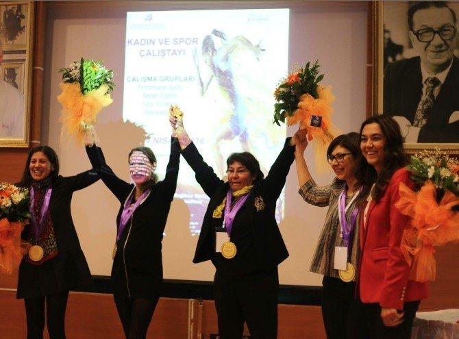 Türkiye'de Bir İlk: Kadın Ve Spor Çalıştayı Düzenlendi