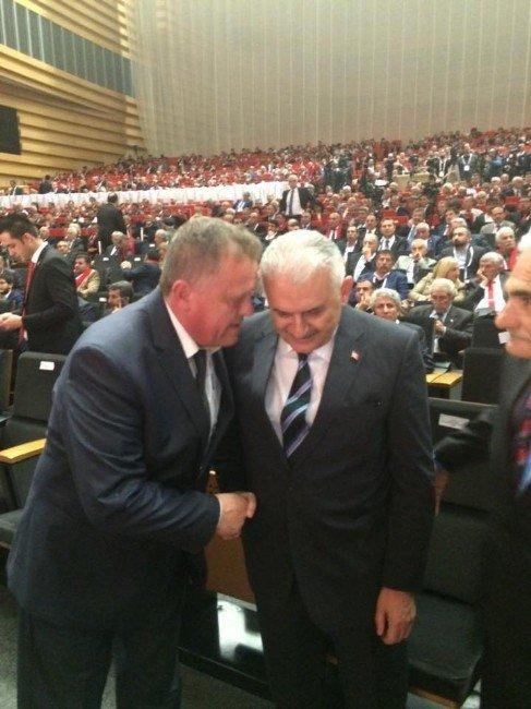 Başkan Çınar, Kan Bankası İçin Bakanlarla Görüştü