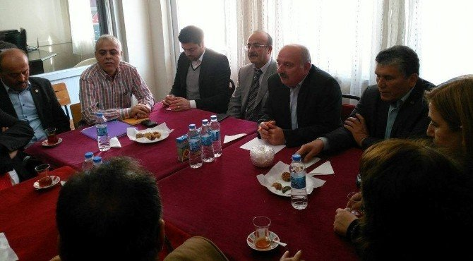 CHP, Nisan Ayı Toplantısı Aybastı'da Yapıldı