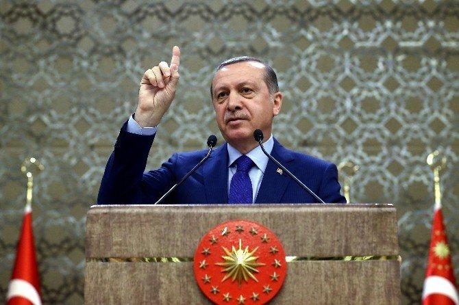 """Cumhurbaşkanı Erdoğan: """"Bu Zalimi Bizim Lahey Adalet Divanı'na Sevk Etmemiz Gerekmez Mi?"""""""