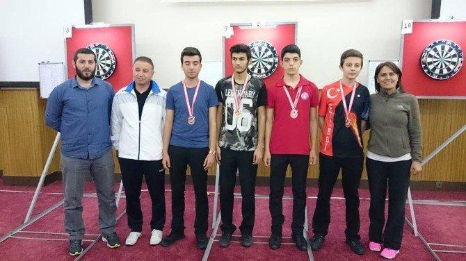 Bozüyüklü Dart Sporcuları Antalya'dan Madalya İle Döndüler