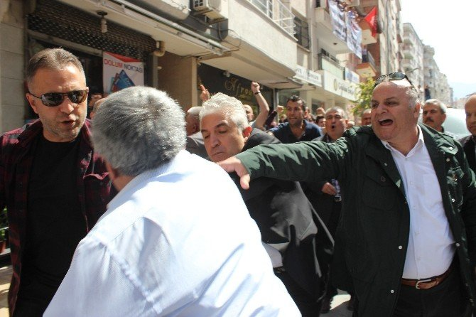 Denizli'de AK Parti-chp Gerginliği
